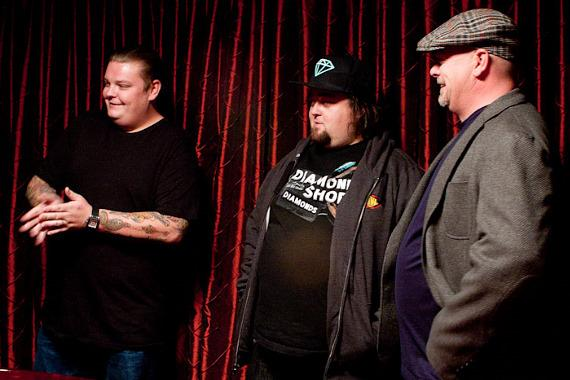 Pawn Stars: Corey Harrison, Chumlee and Rick Harrison