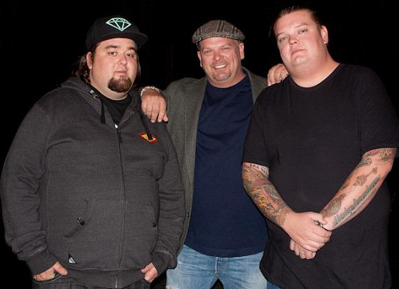 Pawn Stars: Chumlee, Rick Harrison and Corey Harrison