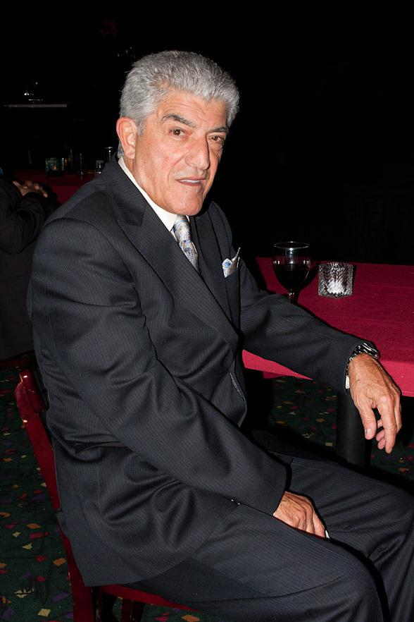 "Frank Vincent on set of Resurrection ""The Wrath of Seduction"""