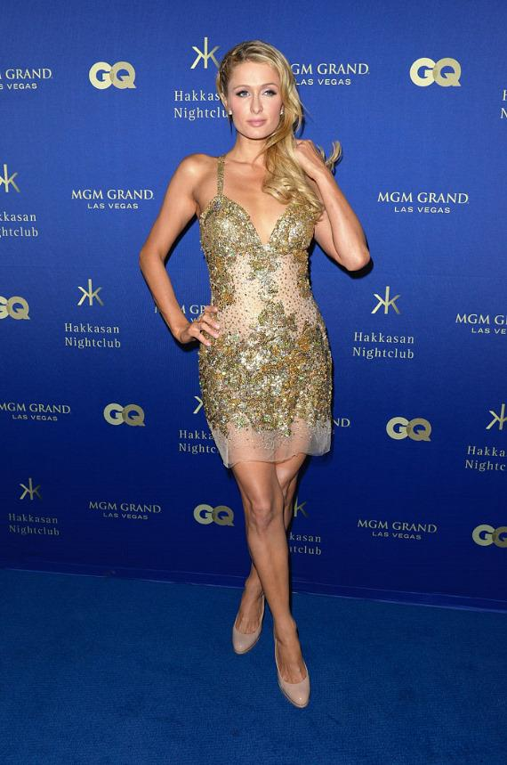 Paris Hilton at GQ Grand Opening party at Hakkasan Las Vegas