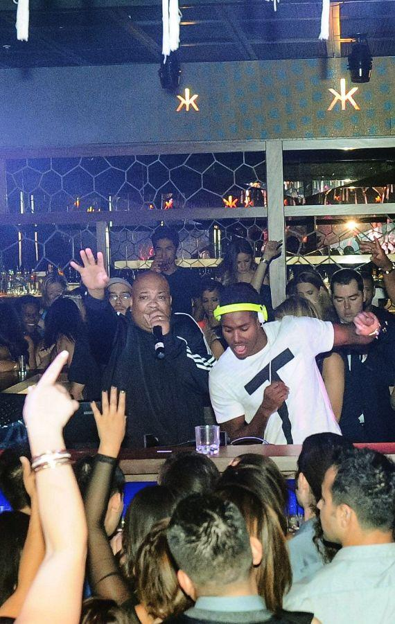 Rev Run and Ruckus at Hakkasan Ling Ling Club