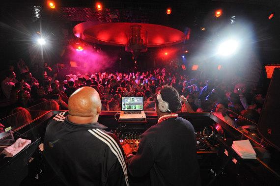 Rev Run and DJ Ruckus at LAVO