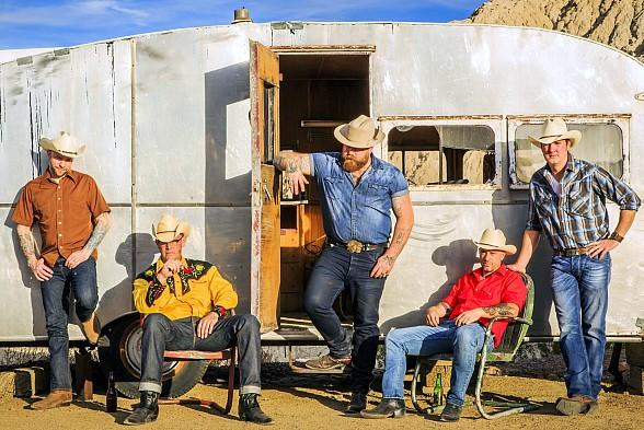 Las Vegas' Own Country Rockers, The Rhyolite Sound, Release Long-Awaited Debut Album Desert Honky Tonk and Receives Ameripolitan Music Award Nomination