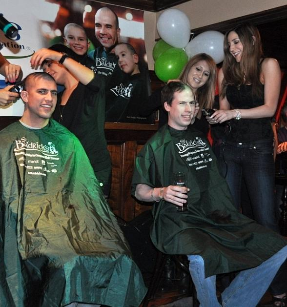 Ri Ra Las Vegas Raises more than $27,000 for St. Baldrick's Foundation
