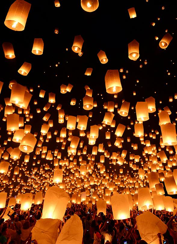 RiSE Lantern Festival Returns to Nevada for Two Days in 2016 October 7-8