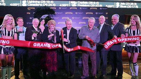David Siegel Hosts Ribbon Cutting Ceremony at Newly-Renovated Race & Sports SuperBook at Westgate Las Vegas Resort & Casino