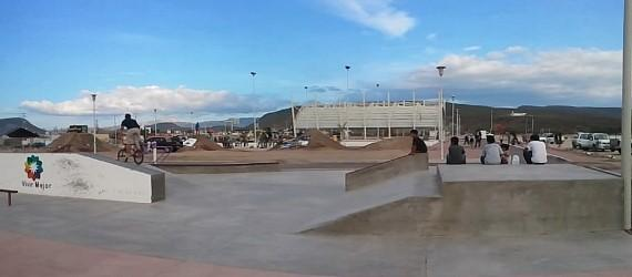 Ricardo La Paz dirt park for BMX riders named after Ricardo Laguna