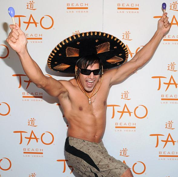 Ricardo Laguna on red carpet at TAO Beach