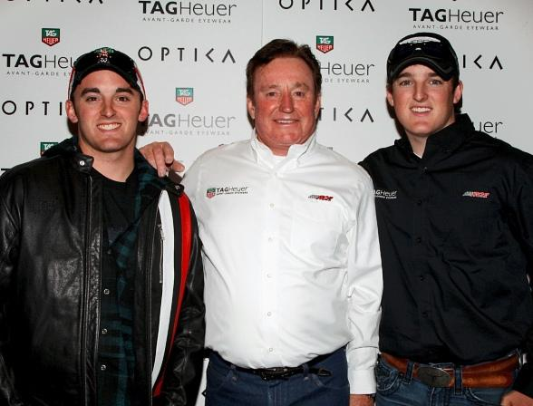 NASCAR's Richard Childress, Austin & Ty Dillon at Optica