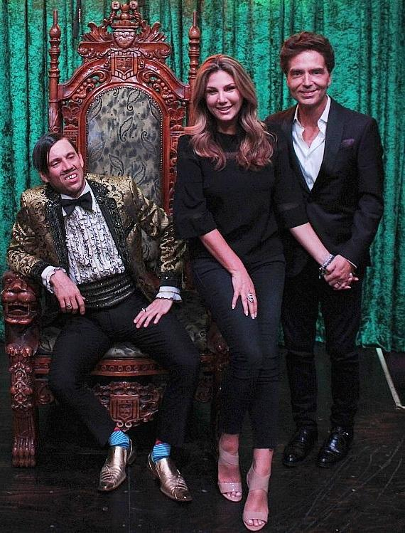 The Gazillionaire with Daisy Fuentes and Richard Marx at ABSINTHE Las Vegas