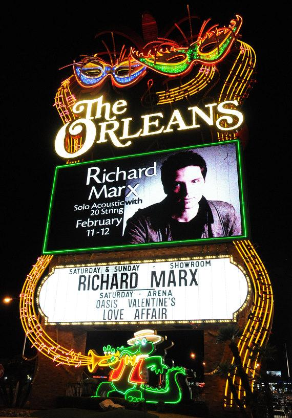 Richard Marx performs at the Orleans Showroom in Las Vegas