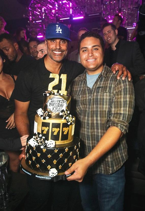 Rick Fox celebrates Kyle Fox's 21st Birthday at Hyde Bellagio