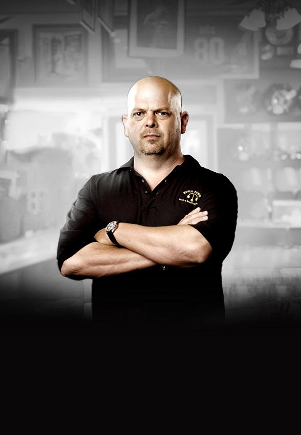 "Rick Harrison from ""Pawn Stars"""