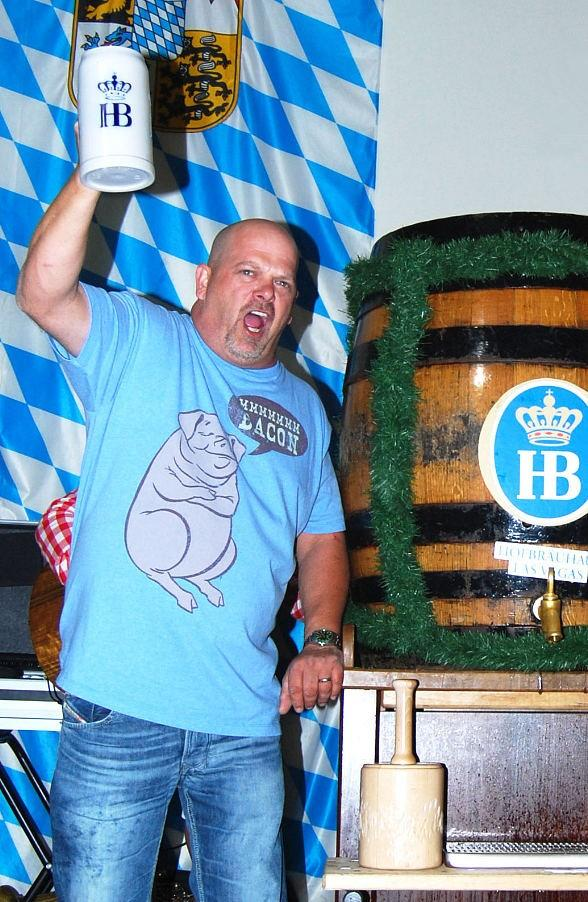 """Pawn Stars"" Rick Harrison and Chippendales Celebrate Oktoberfest at Hofbräuhaus Las Vegas"