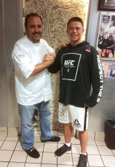 UFC Fighter Rick Story Dines at N9NE Steakhouse at Palms Casino Resort