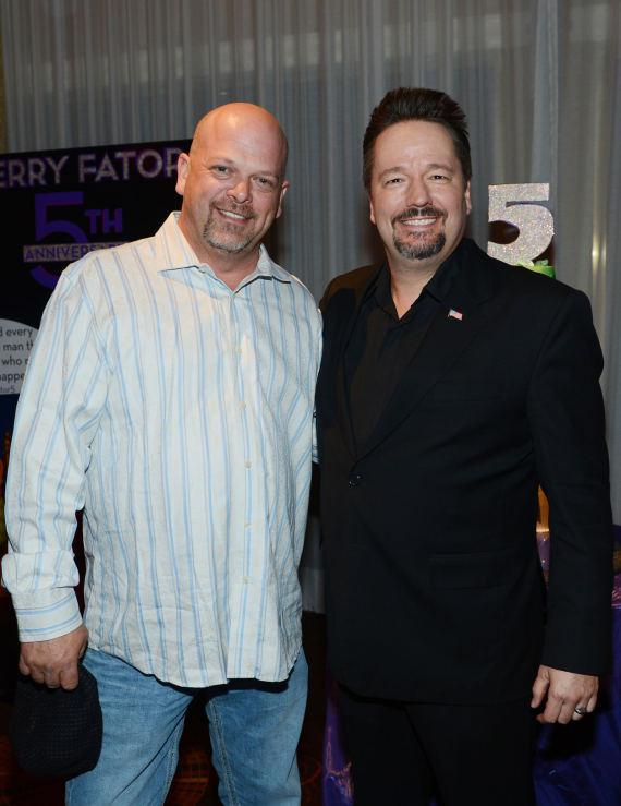 Rick Harrison and Terry Fator