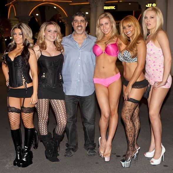 Gary Dell'Abate hosts CES party at Rick's Cabaret Vegas