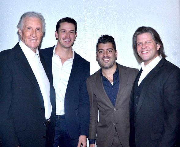 The Carole King Musical Cast Members John Michael Dias and Andrew Brewer Spotted with The Righteous Brothers