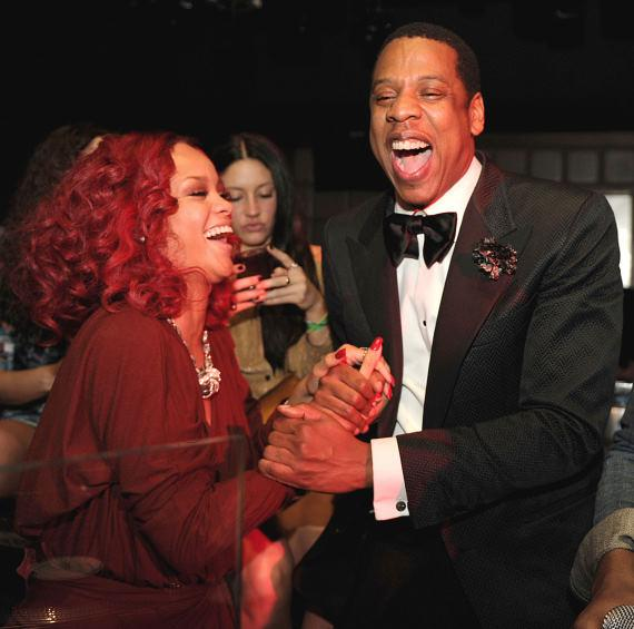 Rihanna and Jay Z at Marquee