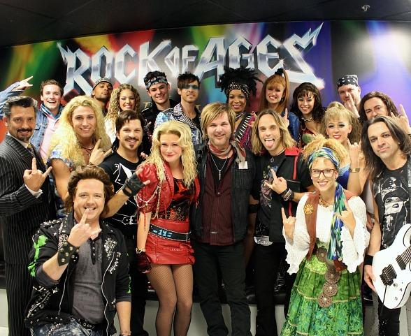 Poison Drummer Rikki Rockett Attends ROCK OF AGES at The Venetian Las Vegas