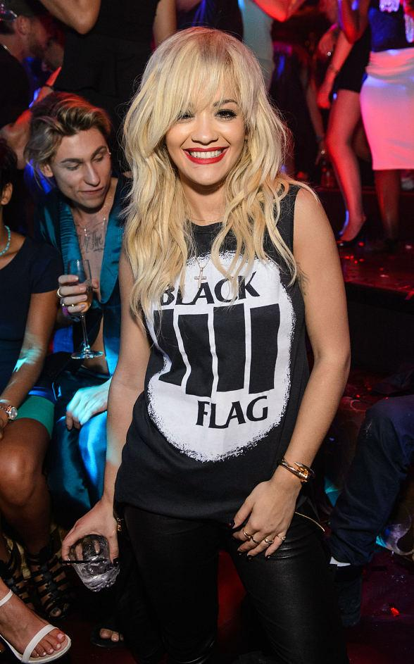 Pop Singer and Actress Rita Ora Hosts at TAO Nightclub