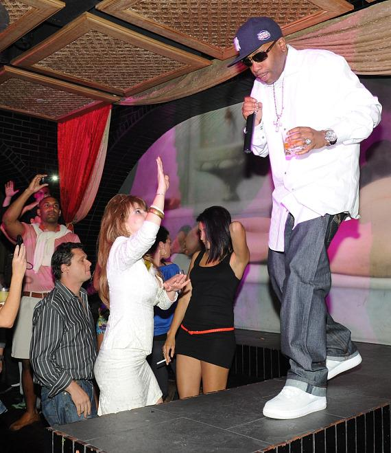 Rob Base performs at LAVO