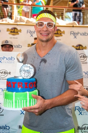 Rob Gronkowski Celebrates his Birthday at REHAB at Hard Rock Hotel & Casino Las Vegas