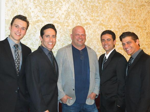 Jersey Boys Las Vegas Welcomes Rick Harrison from Pawn Stars
