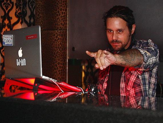 Korn's Rob Patterson at Prive Las Vegas