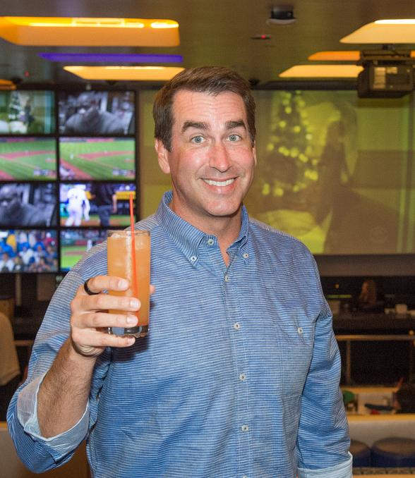 FOX NFL Personality, Actor and Comedian Rob Riggle Celebrates Football Season at Lagasse's Stadium at The Palazzo Las Vegas