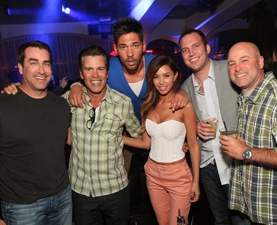 Rob Riggle parties with JROC and friends at Hyde Bellagio, Las Vegas