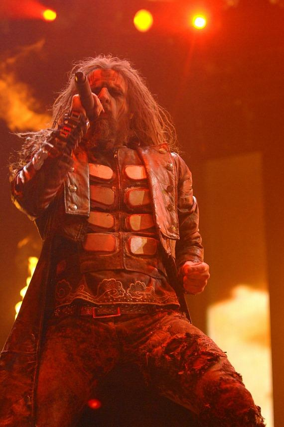 Rob Zombie at Rock Vegas Festival at Mandalay Bay