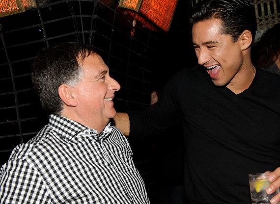 Robert Earl and Mario Lopez at LAVO