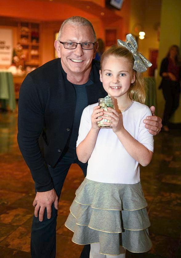 Chef Robert Irvine and Eight-Year-Old Donor Vivi Attend Three Square Event Honoring Giving Society