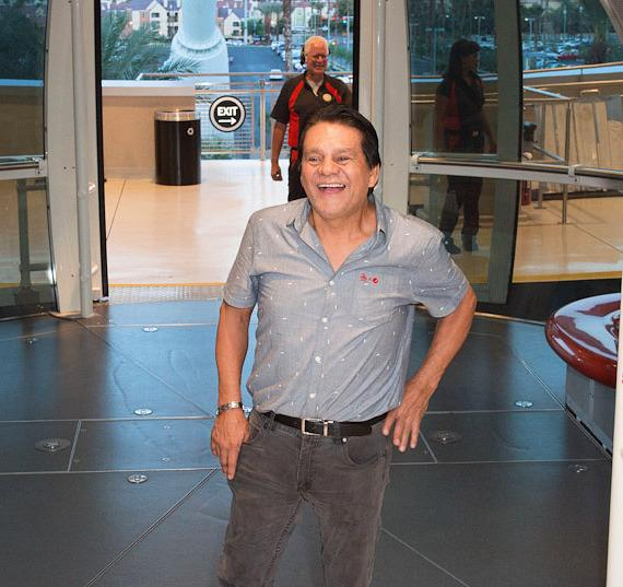 Former Lightweight, Welterweight, Light Middleweight and Middleweight Boxing Champion Roberto Duran