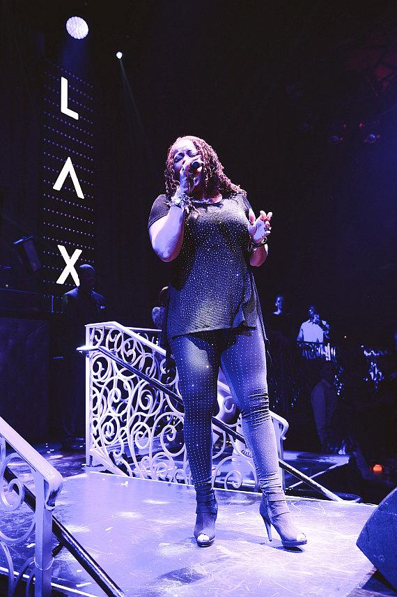 Robin S. Performs at LAX Nightclub inside Luxor Hotel and Casino