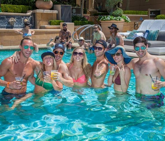 Rock of Ages at Azure Luxury Pool