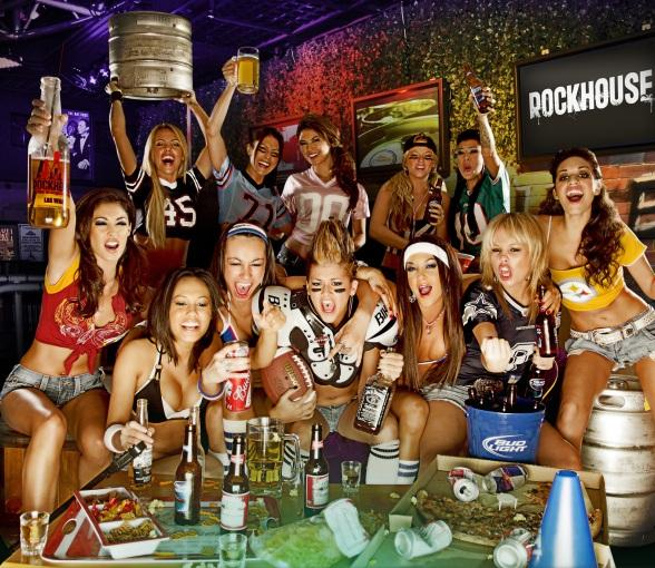 Rockhouse and PBR Rock Bar to Tackle Football Season with Open Bar Specials