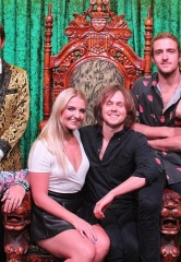 Members of Pop Rock Band R5 Attend ABSINTHE at Caesars Palace