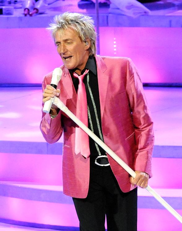 """Rod Stewart kicks off his first Las Vegas residency """"Rod Stewart: The Hits"""" at The Colosseum at Caesars Palace"""