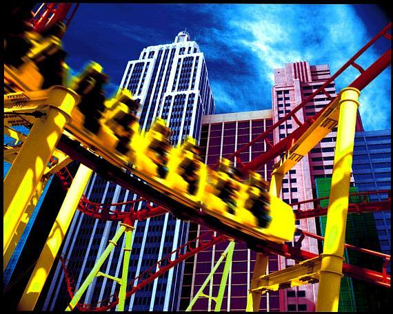 Roller Coaster at New York-New York