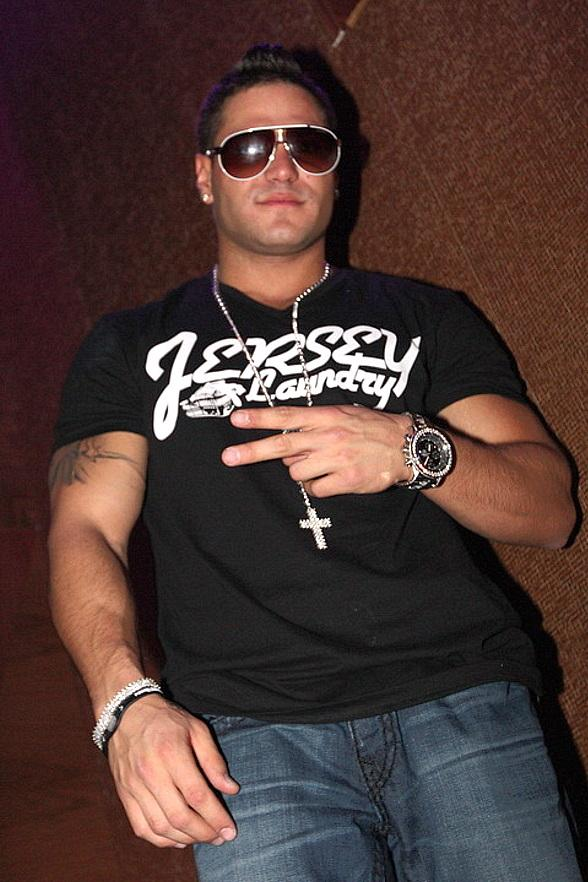 Ronnie from Jersey Shore at Vanity Nightclub in Hard Rock Hotel
