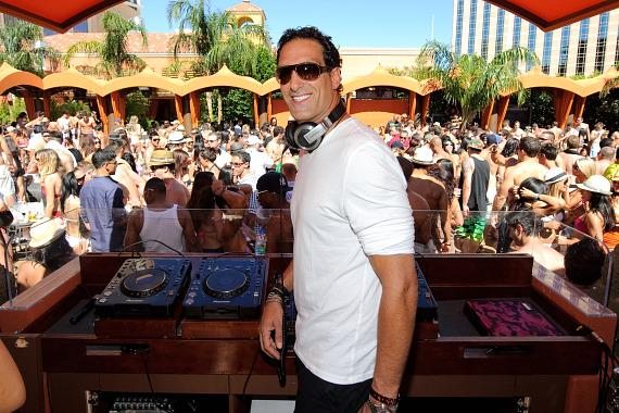 Rony Seikaly DJs at TAO Beach