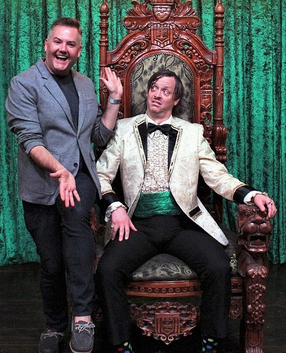 TV Personality Ross Matthews Attends ABSINTHE at Caesars Palace in Las Vegas