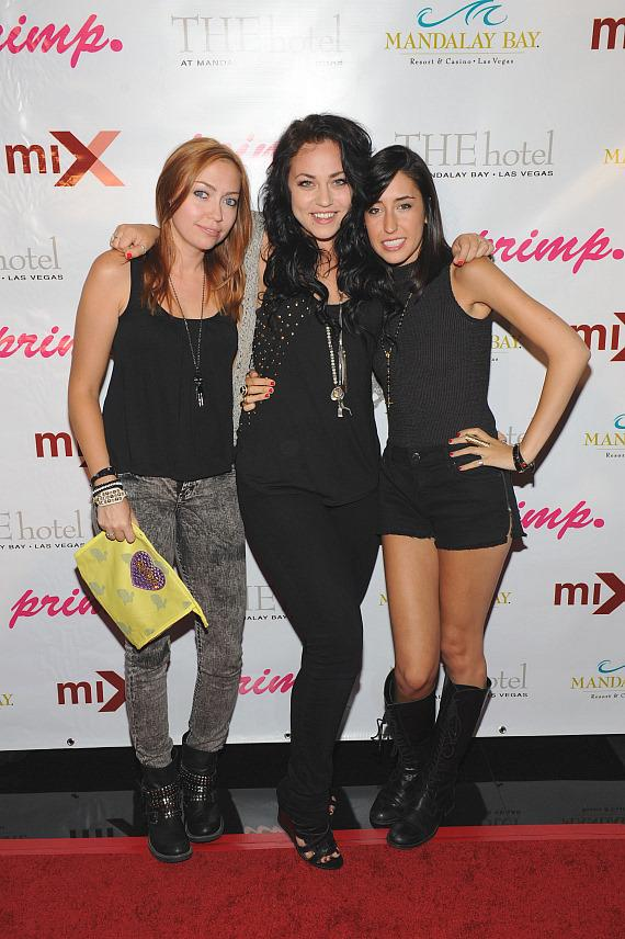 Brandi Cyrus, Codi Caraco and Julia Ross