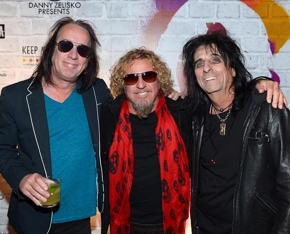 Todd Rundgren, Sammy Hagar and Alice Cooper