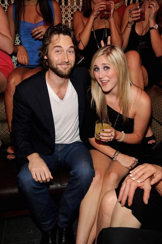 Ryan Eggold with sister Nicole at LAVO