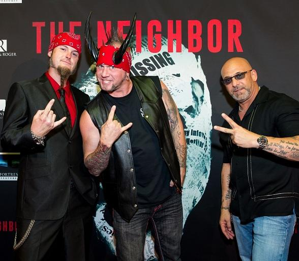 "Bill Engvall, Alex Essoe, Melissa Bolona, Counting Cars cast, Danielle Harris, Coolie and more at ""The Neighbor"" Red Carpet Movie Premiere"