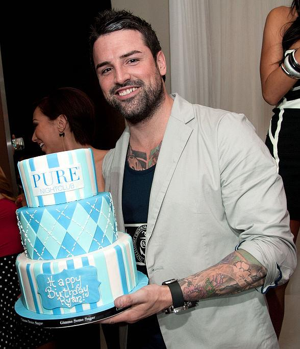 """Ryan Labbe of """"The Pauly D Project"""" Celebrates 30th Birthday at PURE Nightclub"""