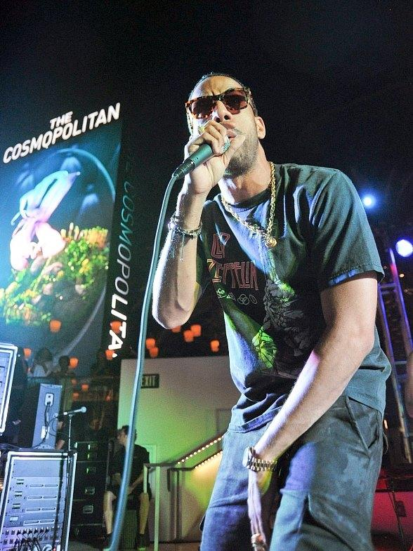 Ryan Leslie Performs During Thursdays Live at The Cosmopolitan of Las Vegas' Boulevard Pool